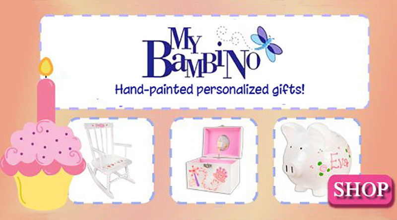 My Bambino Hand Painted Personalized Accessories